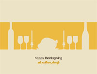 Thanksgiving13 Greeting Card (4x55)